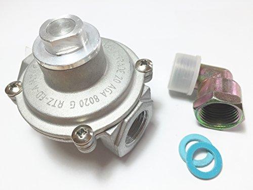 (Ramblewood Gas Pressure Regulator, GR1-2N, Natural/Propane)