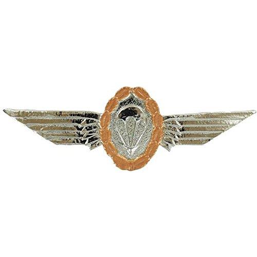 German Bronze Parachutist Jump Wings, Brite (Wings Parachutist)