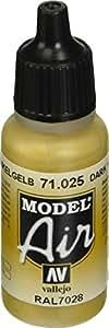 Vallejo Model Air 17ml - Dark Yellow 71025