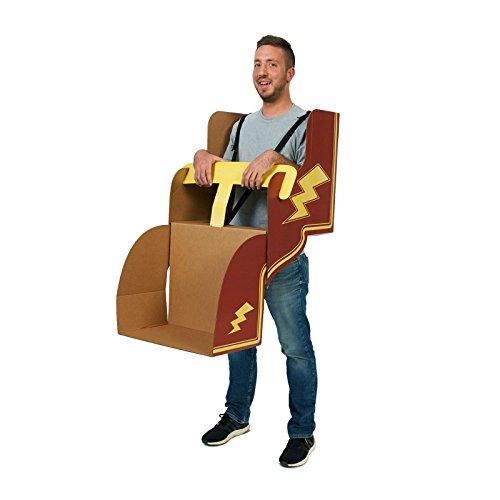 (Advanced Graphics Roller Coaster DIY Cardboard Adult)