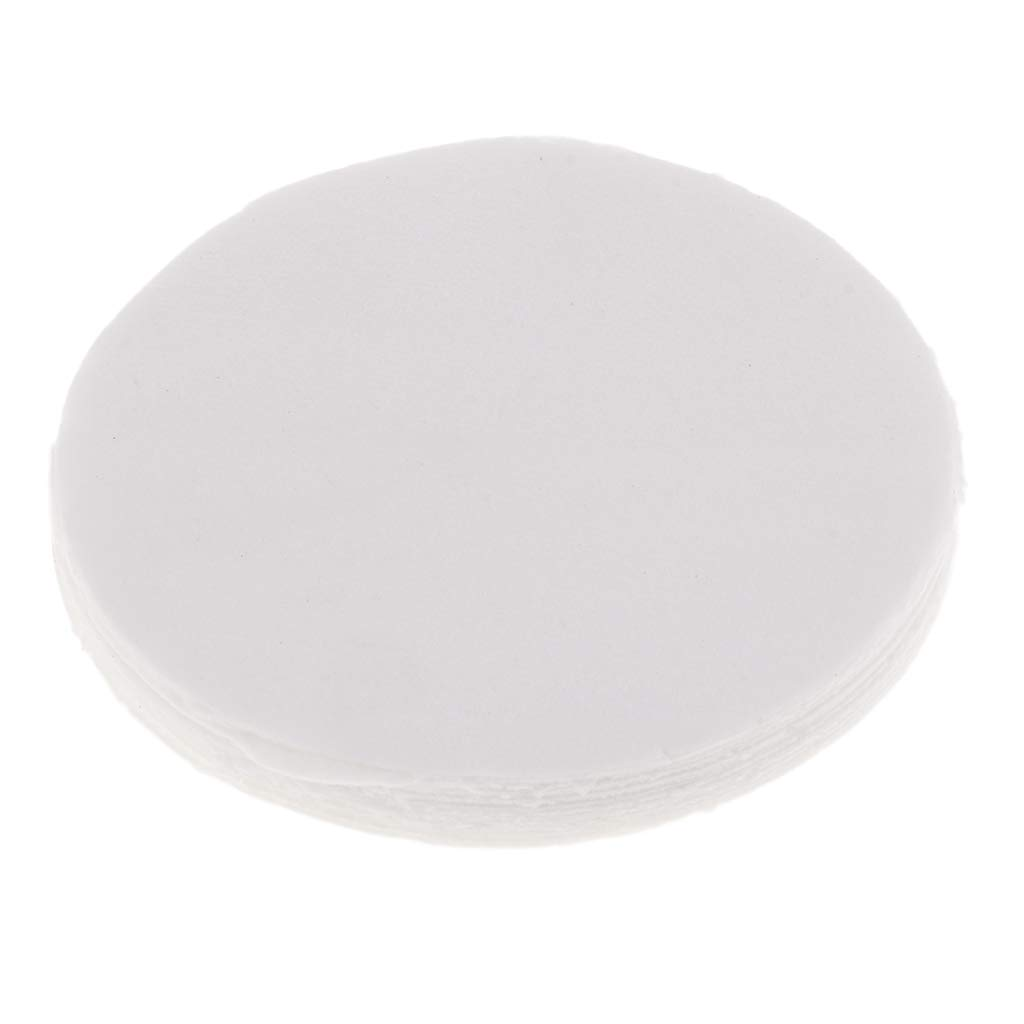 SM SunniMix 10 Pieces 4.53inch Dia 1mm Microwave Kiln Glass Fusing Paper Ceramic Fiber Round Paper for A Perfectly Smooth Bottom on Your Glass