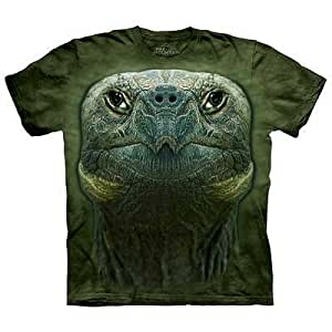 T shirt turtle head men 39 s green size xxl for Green turtle t shirts review