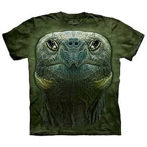 T Shirt Turtle Head Men 39 S Green Size Xxl