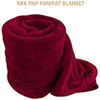 NKK PNP PANIPAT Manufactured Fleece Blanket- Double Bed Size