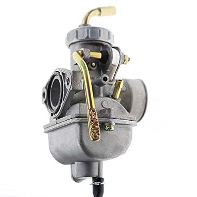 Carbhub PZ20 Carburetor for Kazuma Baja 50cc 70cc 90cc 110cc 125cc TaoTao 110B NST SunL Chinese Quad 4 stroke ATV 4 wheeler Go kart Dirt Bike Honda CRF50F XL75 CRF80F XR50R with Air Fuel Filter: Automotive