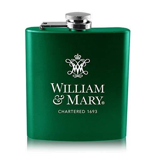 大特価放出! College of William B0188J1VJ8 William & & mary-6オンスカラーステンレススチールflask-green B0188J1VJ8, 3-PEACE:d0edb20b --- palmistry.woxpedia.com
