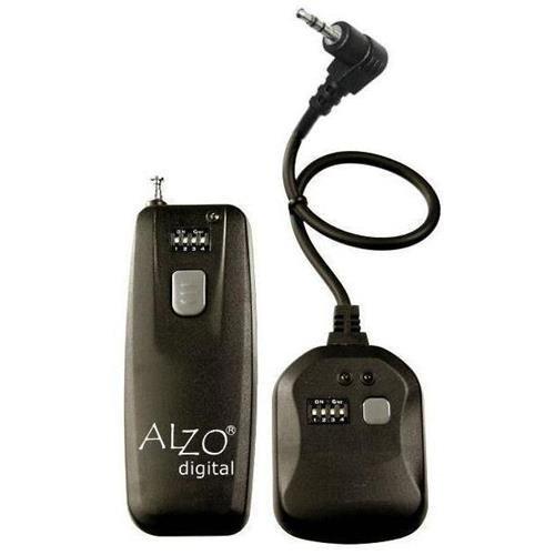 ALZO Wireless Radio Shutter Release for Canon Digital Rebel- 300 ft range - for all CANON EOS T5i, T4i, T3i, T2i, T1i, 450D, 400D, 350D, 300D, 300, 300V, 50E, 50, 33, 30 - NOT for CANON EOS PRO ALZO Digital 33304