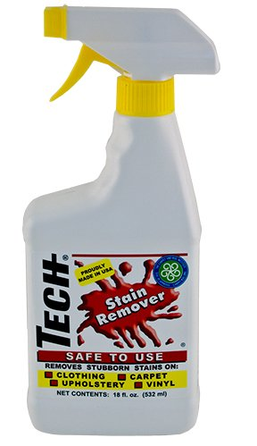 TECH 300018 Stain Remover - 18 oz (30018), Packaging May Vary ()