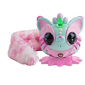 Best Epic Trends 41T3TvjlhZL._SS300_ Pixie Belles - Interactive Enchanted Animal Toy, Aurora (Turquoise)