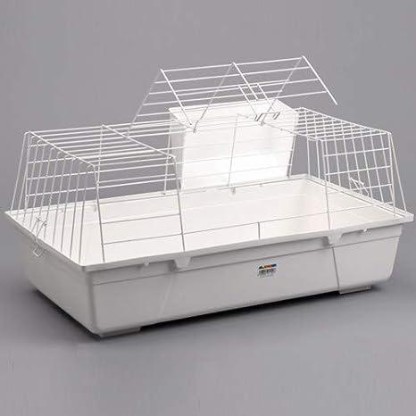 ALAMBER Jaula para Conejo 70cm: Amazon.es: Productos para mascotas