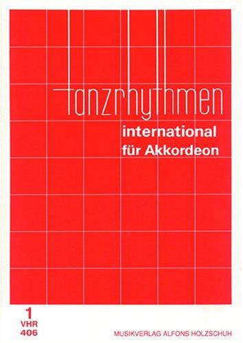Tanzrhythmen international für Akkordeon