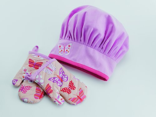 Design Imports 27133 Butterfly Gift Set Pink