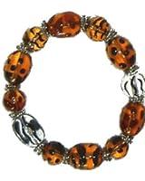 Gypsy Glass Bead Bracelet