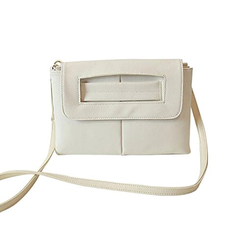Clutch Ivory Fashion Bag Women's Ladies Purposefull Crossbody Bag 4anOxUwF