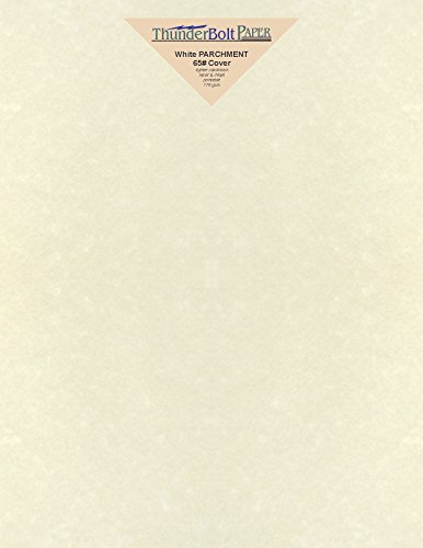 - 50 Old White Parchment 65lb Cover Weight Paper 8.5 X 11 Inches Cardstock Colored Sheets Letter Size -Printable Old Parchment Semblance