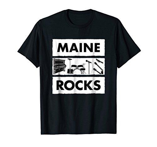 MAINE Rocks Music Band T-shirt