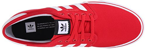 Adidas Mens Scarpa Da Skate Seeley Scarlatto / Bianco / Nero