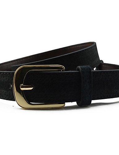 HAN-NMC Lady Belt Fashion Needle Buckle Black
