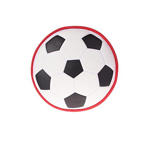 Georgie Porgy Niedlicher Nilpferd-Kleinkind Rucksack Baby Neopren Schultasche grüne Reise Sport Tasche 3D Football-big