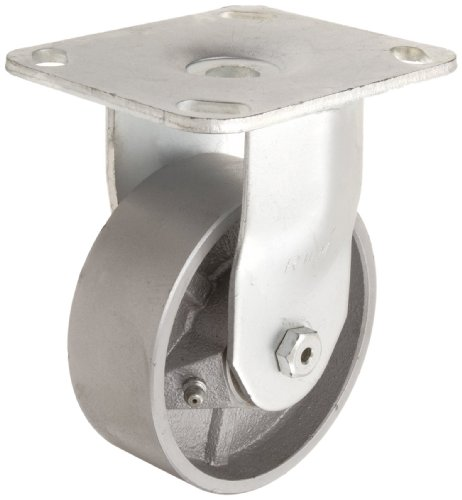 RWM-Casters-45-Series-Plate-Caster-Rigid-Rubber-on-Iron-Wheel