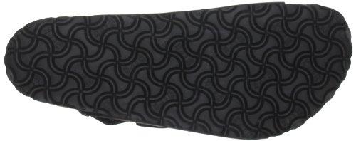 Birkenstock Milano 239 UK8 - Sandalias de cuero unisex negro - negro