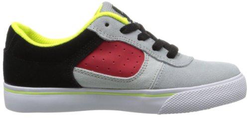 DC COLE PRO B SHOE BYR - Caña baja de cuero niño gris - Grau (BLACK/GREY/RED)