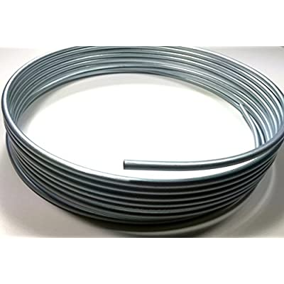 "Roll of 3/8"" Steel Line (.375) 25 Feet: Automotive"