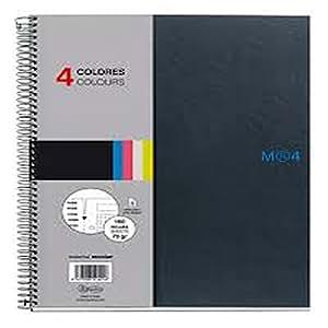 Miquelrius - Libreta miquerius 4 colores