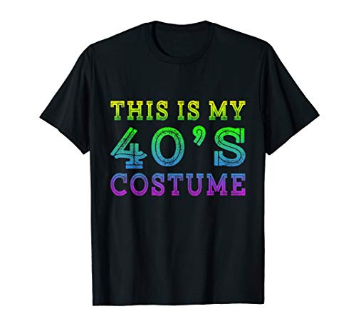 This is my 40's Costume Funny 1940s Halloween Costume Gifts ()