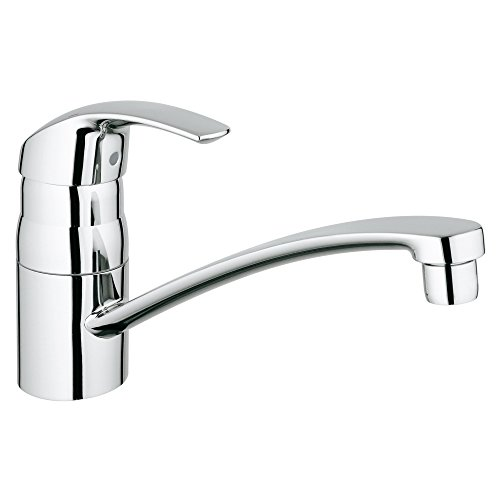 Eurosmart Single-Handle Standard Kitchen Faucet With Swivel Spout