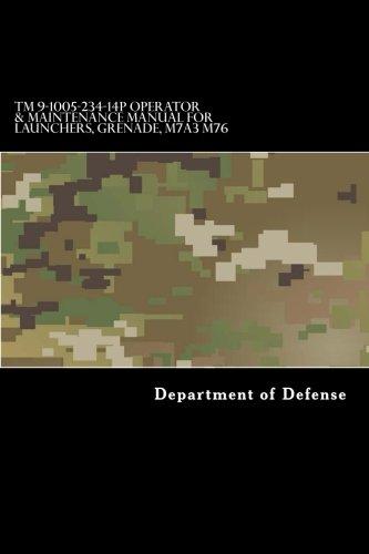 Download TM 9-1005-234-14P Operator & Maintenance Manual for Launchers, Grenade, M7A3 M76 pdf