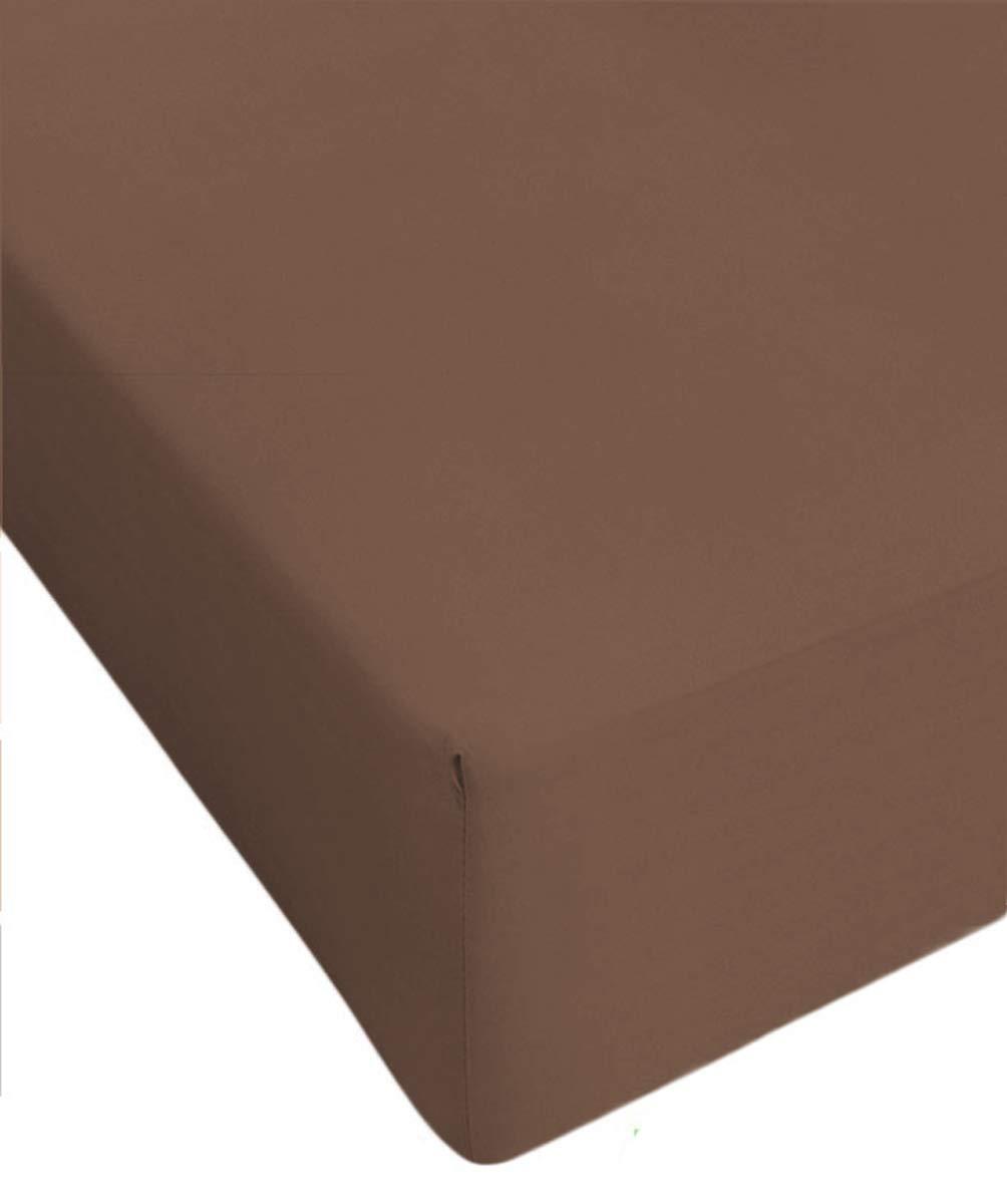 Centesimo Web Shop Lenzuolo sotto 160X210 CM Misura Speciale Vari Colori 160 210 Cotone Prodotto in Italia 160x210 cm Azzurro