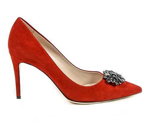 Versace 19.69 Escarpin Pompes Femme Talon 9 cm 100% SUÈDE