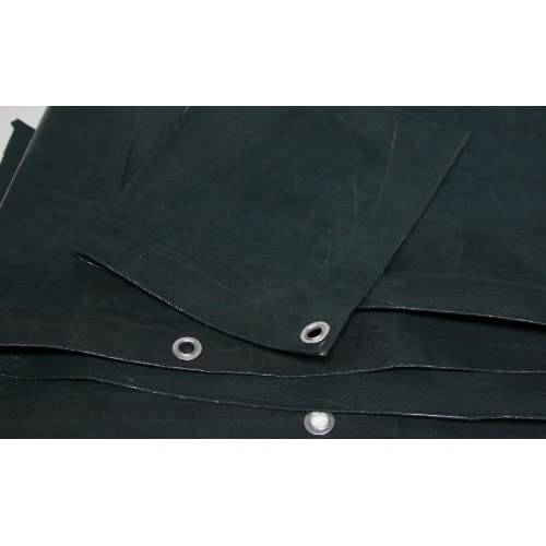 10 Ft. X 18 Ft. Medium Duty 4.5 Oz. Green Tarp - 9 Mil Thick hot sale