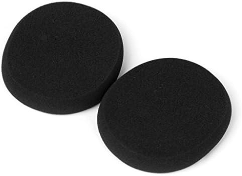 TISHITA 1ペア イヤーパッド クッション 交換用 ソフト 耳に快適 取り替え H800用 黒