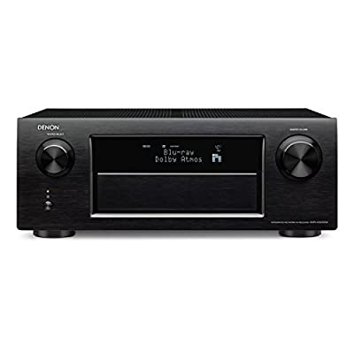 Denon AVR-X4100W 7.2 Network A/V Receiver with Wi-Fi, Bluetooth and Dolby Atmos