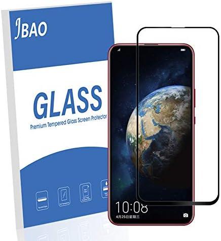 [2-Pack] Jbao Direct Huawei Honor Magic 2 Display screen Protector, 9H Hardness [Scratch Resistant][Anti-Fingerprint][Ultra Thin][Full Screen Coverage] Tempered Glass for Huawei Honor Magic 2(Black)