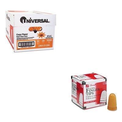 KITSWI54031UNV21200 - Value Kit - Swingline Rubber Finger Tips (SWI54031) and Universal Copy Paper (UNV21200)