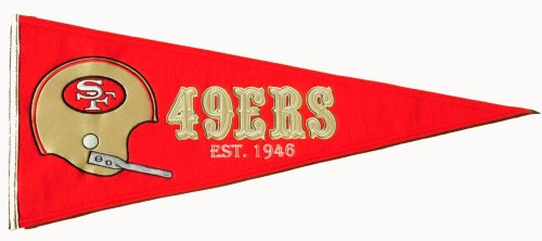 Throwbacks Nfl - Winning Streak NFL San Francisco 49ers Throwback Pennant