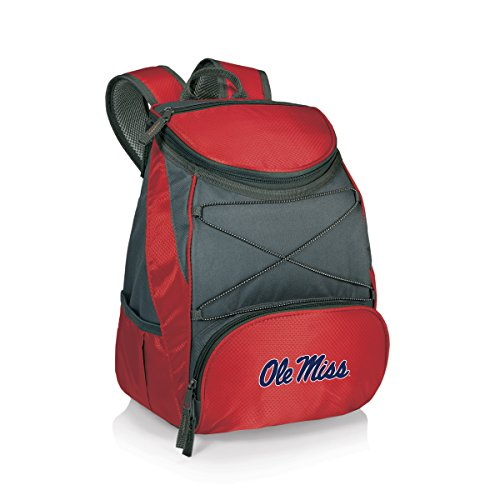 PICNIC TIME NCAA Mississippi Rebels PTX Insulated Backpack Cooler, Red