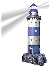 Ravensburger 12577 7 Leuchtturm bei Nacht
