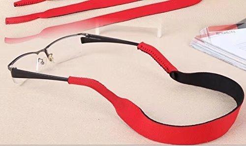 Cinta deportiva para gafas de sol / gafas, rojo
