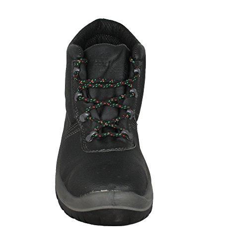 Legendary - Calzado de protección de Piel para hombre Negro - negro