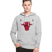 47 Forty Seven Brand Chicago Bulls NBA Headline Hoody Kapuzenpullover Mens