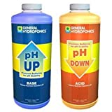 GH General Hydroponics pH Up and pH Down 1 Quart