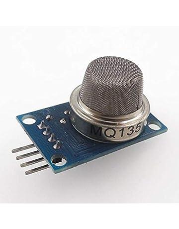 HW-113MQ-135 Sensor de detección de calidad del aire Módulo, gris-