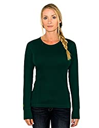 Women's Merino Wool Top By Woolx - Midweight, Moisture Wicking Merino Base Layer
