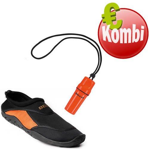 Schwarz pour Chaussures spécial homme nautiques Orange activités Beco fwqYIvaa