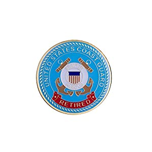 Coast Guard Retired Coin by Coins For Anything Inc