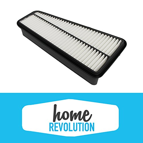 Cabin Air Panel Filter Compare to A35578 & CA9683; Home Revolution Brand Replacement Made to Fit Toyota Truck 4RUNNER, Toyota Truck Tacoma, Toyota Truck Tundra & More